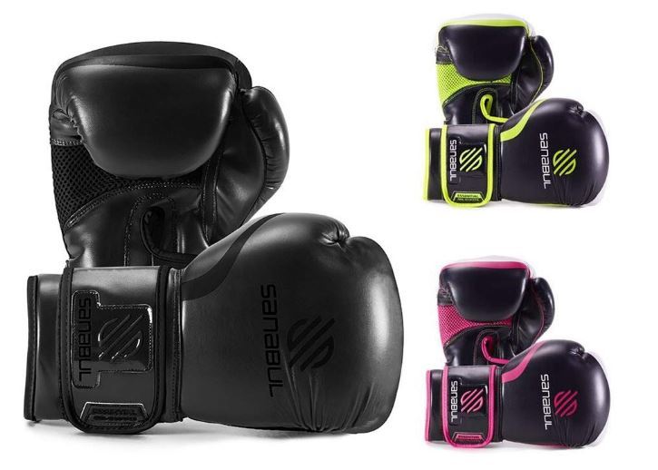 Sanabul essential gel boxing gloves, best kickboxing gloves for a 10 year old